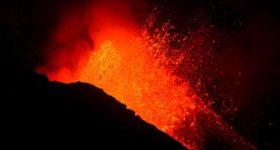 Volcán aumenta