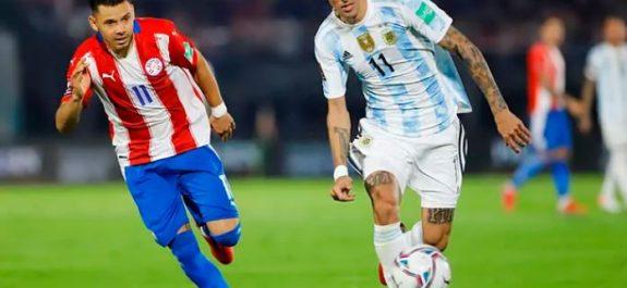 Argentina se queda cerca del triunfo ante Paraguay y empata sin goles en Asunción