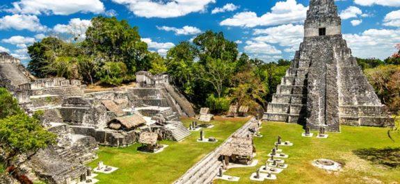 barrio oculto en ciudad maya