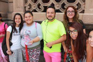 Mayra saucedo, Luis Monreal, Gerardo Gallegos y Alesandra